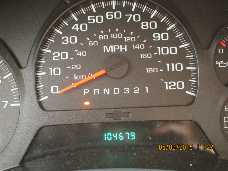 2007-Chevrolet-Trailblazer-Light-grey--Mileage